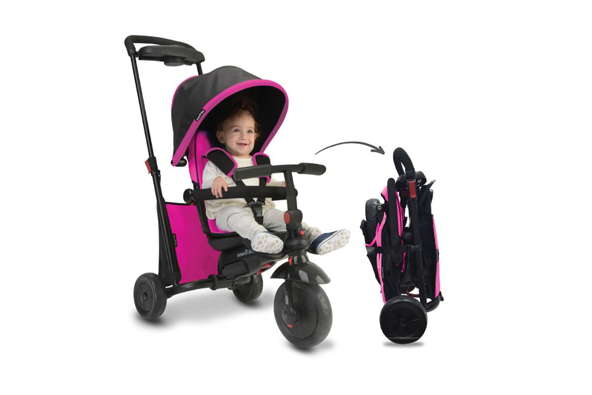 """Трехколесный велосипед """"SmarTrike"""" smarTfold 500 розовый, -/Розовый"""