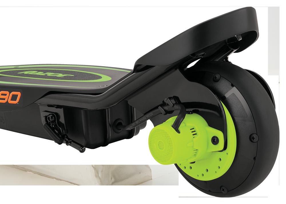 Электросамокат Razor Power Core E90 (зелёный)