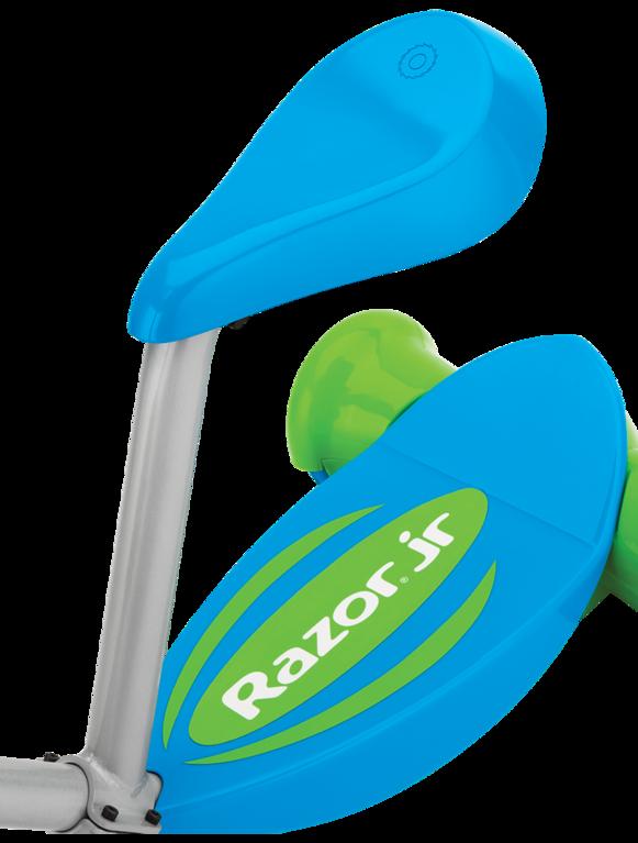 Электросамокат с сиденьем Razor Lil' E (синий)