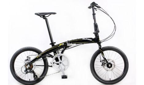 Велосипед Alpine Bike Peak F-1 Disс Унисекс  черный