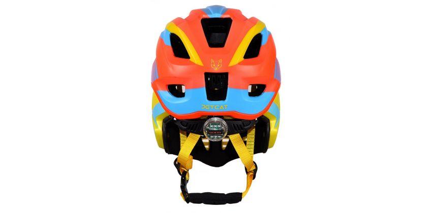 Детский шлем JET-CAT FULLFACE RAPTOR (ORANGE/YELLOW/BLUE)