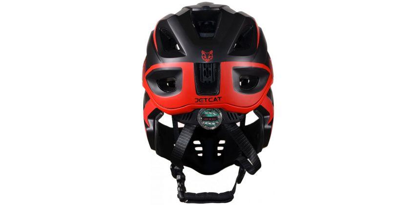 Детский шлем JET-CAT FULLFACE RAPTOR (BLACK/RED)