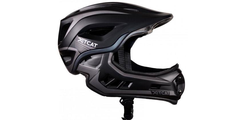 Детский шлем JET-CAT FULLFACE RAPTOR (BLACK/GREY)