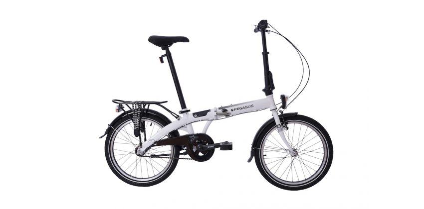 Складной велосипед Pegasus D3S White