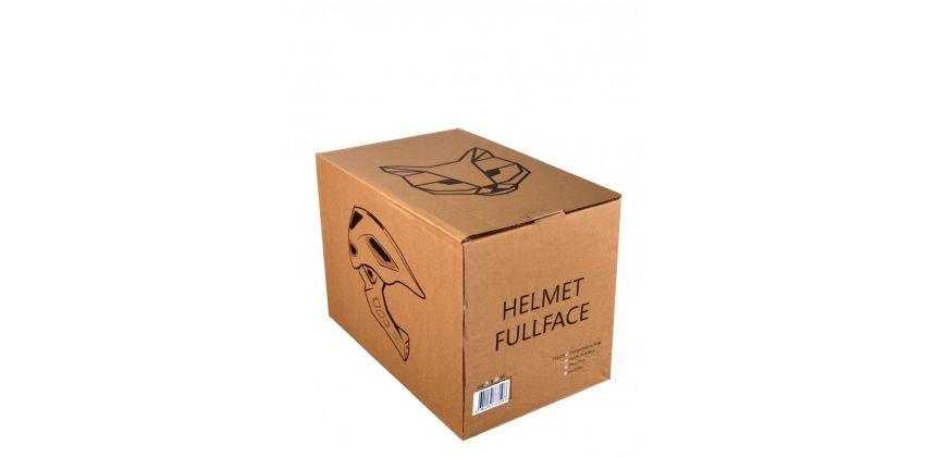 Детский шлем JET-CAT FULLFACE RAPTOR (BLACK/GREY) [CLONE] [CLONE] [CLONE]