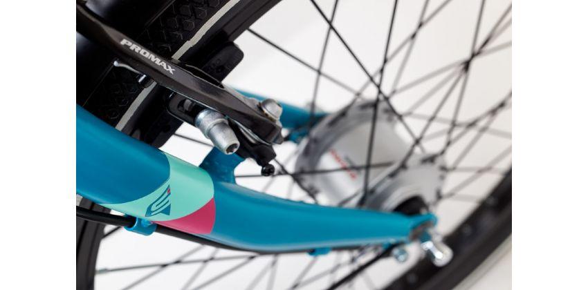 """Велосипед """"SCOOL"""" chiX alloy 20, 3 ск. Nexus, -/Голубой"""