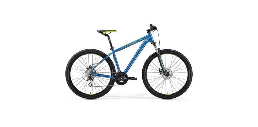 Велосипед Merida Big Seven 20-MD Blue/Blue/Green 2019 M