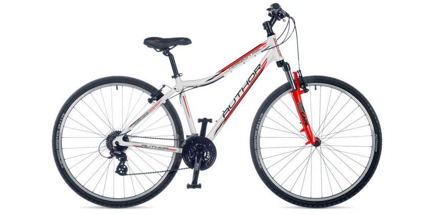 Велосипед AUTHOR Horizon ASL белый/красный