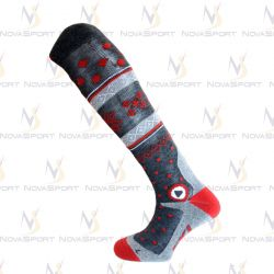 Носки Enforma Freeski Hot Compression grey/red 4-1043