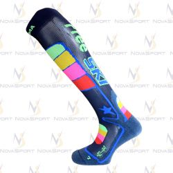 Носки Enforma Ski Freeski Camp blue rainbow 4-1032 (M (39/41))