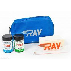 """Набор лыжника""""RAY""""(сум.,мазь WT-10,20,проб.,скреб)"""