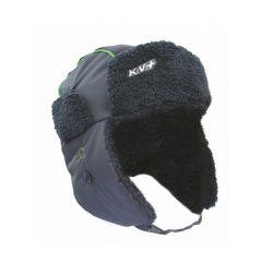 Шапка-ушанка FROST (110-чёрный) – KV+