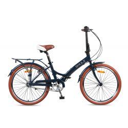Велосипед SHULZ Krabi V 2016, темно синий YS-714