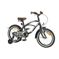 """Четырехколесный велосипед для мальчиков Volare -  Black Cruiser 16"""""""