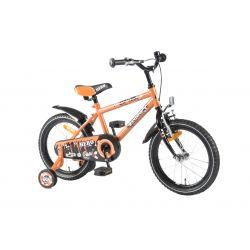 """Четырехколесный велосипед для мальчиков Volare - Kanzone hero orange 16"""""""
