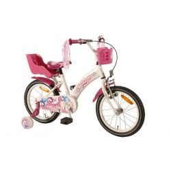 Четырехколесный велосипед для девочек Volare Giggles Girl 16 дюймов