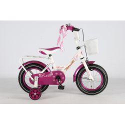"""Четырехколесный велосипед для девочек Volare -  Rose 12"""""""