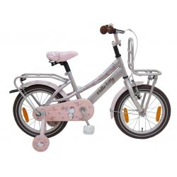 "Четырехколесный велосипед для девочек Volare - Hello kitty romantic city cream 16"""