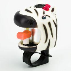 Звонок велосипедный Crazy Safety - Зебра