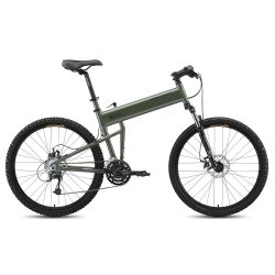 Складной велосипед Montague Paratrooper (2015) зеленый