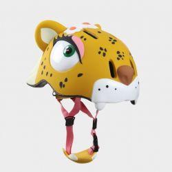 """Детский велосипедный шлем Crazy Safety - """"Леопард"""""""