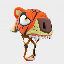"""Детский велосипедный шлем Crazy Safety - """"Тигр"""""""