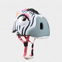 """Детский велосипедный шлем Crazy Safety - """"Зебра"""""""
