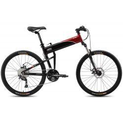 Складной велосипед Montague Swissbike X70 (2015) черный/красный УЦЕНКА