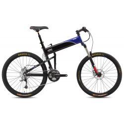 Складной велосипед Montague Swissbike X90 (2015) черный/синий