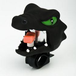 Звонок велосипедный Crazy Safety - Черный дракон