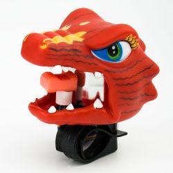 Звонок велосипедный Crazy Safety - Динозавр