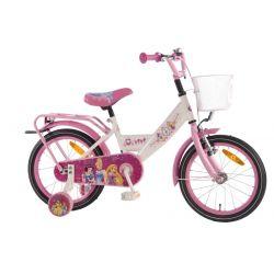 Четырехколесный велосипед для девочек Volare Disney Princess 16 дюймов
