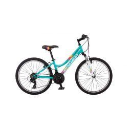 Подростковый горный велосипед для девочек Schwinn High Timber 24 Girl Teal (2018)