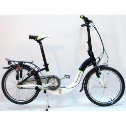 """Велосипед Dahon Ciao i7 черно-белый,колёса 20"""", крылья, багажник, насос, 7 скор."""
