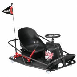 Электромобиль дрифт-карт Razor Crazy Cart XL (чёрный)
