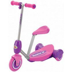 Электросамокат с сиденьем Razor Lil' E (розовый)