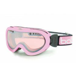 Маска горнолыжная Bolle Nebula Shiny Pink/Vermillon Gun
