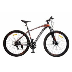 """Велосипед PHOENIX 2901 Disc, 29"""" 19"""", матовый серый/оранжевый"""