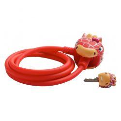 Замок  Crazy Safety'18 RED GIRAFFE