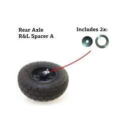 Шайбы для заденего колеса рамы XL