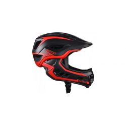 Детский шлем JET-CAT FULLFACE RAPTOR (BLACK/RED)