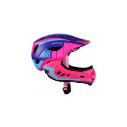 Детский шлем JET-CAT FULLFACE RAPTOR (PINK/PURPLE/BLUE)