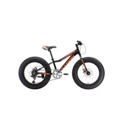 Велосипед Stark'18 Rocket Fat 20.1 D чёрный/оранжевый