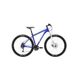 "Велосипед Stark'18 Tactic 29.5 HD тёмно-синий/белый/голубой 20"""