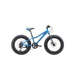 Велосипед Stark'19 Rocket Fat 20.1 D голубой/чёрный/серый