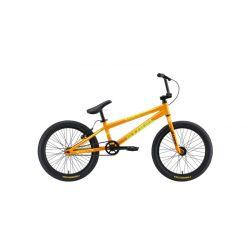 Велосипед Stark'19 Madness BMX Race оранжевый/жёлтый