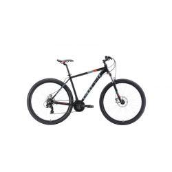 """Велосипед Stark'19 Hunter 29.2 D чёрный/серый/красный 22"""""""