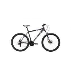 "Велосипед Stark'19 Hunter 27.2 HD чёрный/белый/серый/красный 18"""