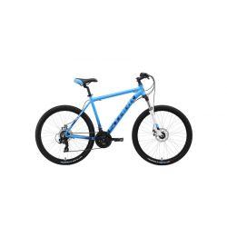 "Велосипед Stark'19 Indy 26.2 D голубой/синий/белый 20"""