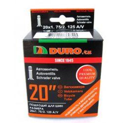 "Велокамера 20"" DURO 20х1,75/2,125 А/V/DHB01005"